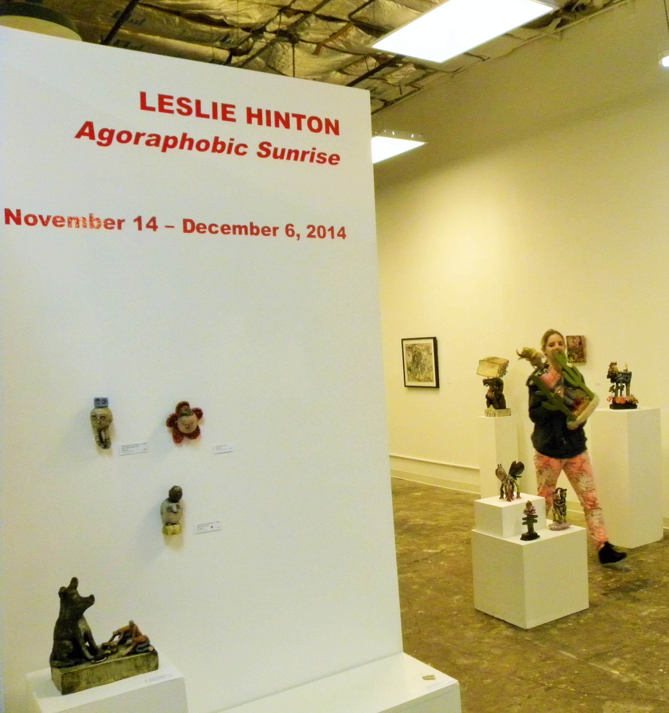 Work at If Art Gallery title and descriptions | Leslie Hinton
